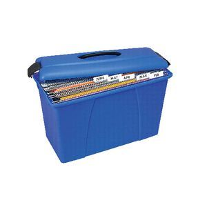 Crystalfile Carry Case Blue