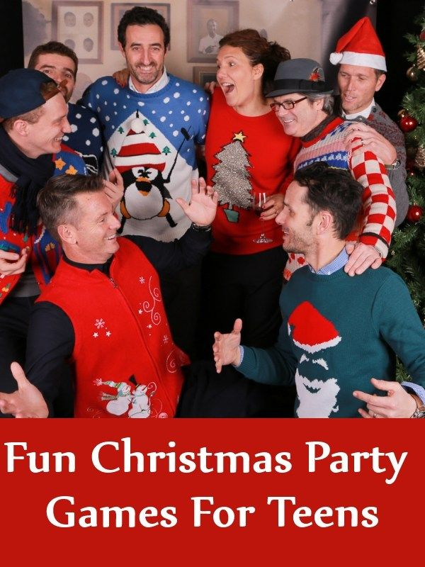 Fun Christmas Party Games For Teens Crave Christmas party ideas