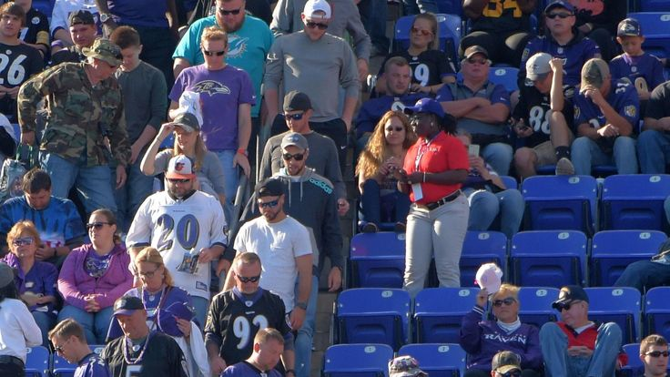 Ravens are advertising tickets for 'sold-out' games, adjusting to a new NFL reality. That's because so many fans have put their tickets back into the club's official resale online market, another sign of the troubles the NFL faces amid anthem protests, injuries, concussion worries and spotty play.