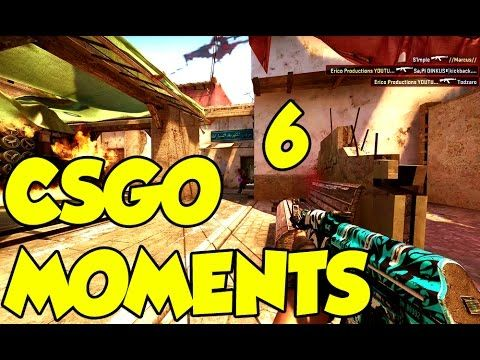 CSGO MOMENTS 6 ! NOSCOPES AND MORE !