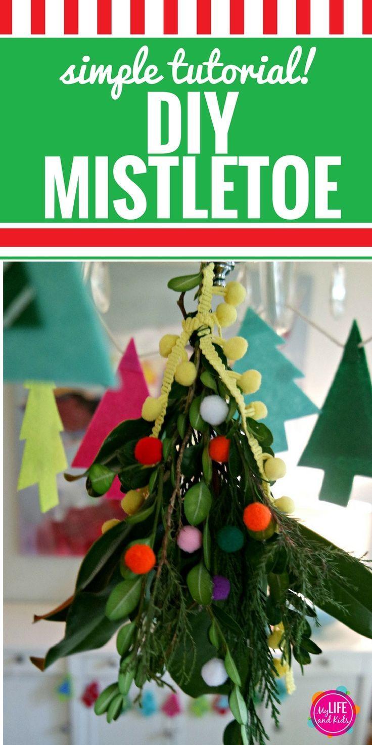 Diy Mistletoe