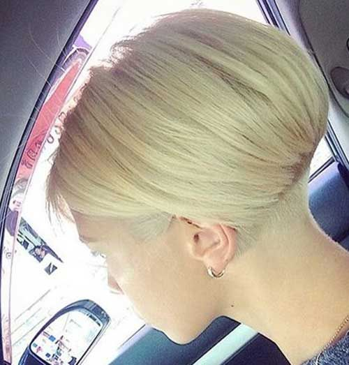 Beliebte kurze gestapelte Haarschnitte, die Sie lieben werden
