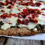 Bacon Basil Sundried tomato pizza- Dirty floor diaries