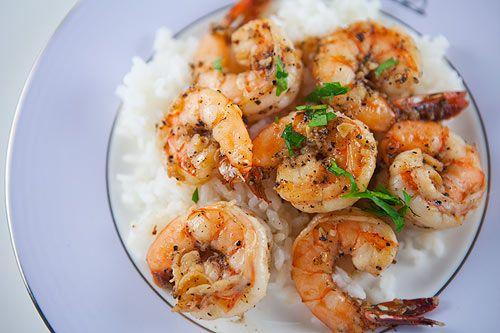 garlic shrimp