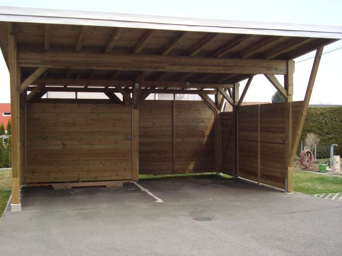 11 besten carport holz bilder auf pinterest holz moderner carport und modernes. Black Bedroom Furniture Sets. Home Design Ideas