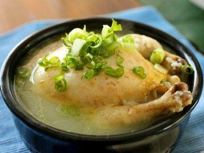 Ginseng+chicken+soup+(Samgyetang)