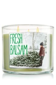 Fresh Balsam Bath and Body Works Candle $10 off $30 Order at Bath & Body Works + Free Signature Item (up to $12.50)