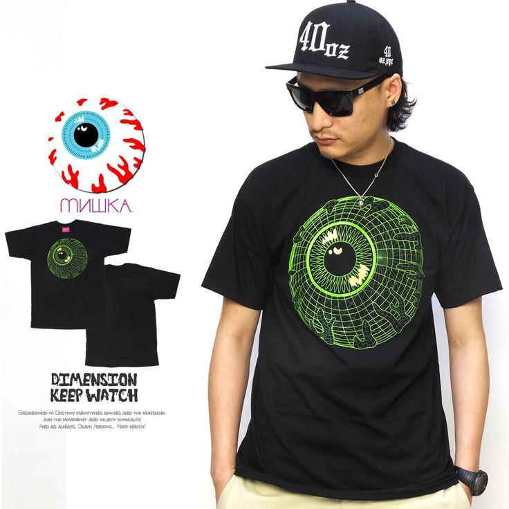 ミシカ MISHKA Tシャツ メンズ DIMENSIONAL KEEP WATCH :5v4135:DEEP B系・ストリートファッション - 通販 - Yahoo!ショッピング