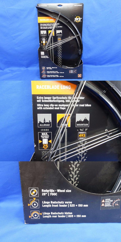 Fenders 72569: New Sks Raceblade Long Road Bicycle Fender Set, 700C 28 Wheels Rain Mud -> BUY IT NOW ONLY: $33.95 on eBay!