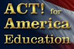 ACT! for America was founded by Brigitte Gabriel, a Lebanese immigrant who came to the United States after losing her country of birth to militant Muslim fundamentalists during the Lebanese Civil War.    ACT! for America is a non-partisan, non-sectarian organization whose mission is to give Americans concerned about national security, terrorism, and the threat of radical Islam, a powerful, organized, informed and mobilized voice.