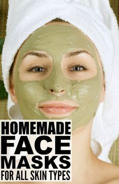 Whether you're looking for face masks for acne, face masks for blackheads, face masks for dry skin, face masks for acne scars, or face masks for wrinkles, there are heaps of DIY face mask recipes for all skin types that can be made with basic household staples. Check out 16 of my favorite homemade face masks, and raise your glass to a lifetime of glowing, gorgeous skin!
