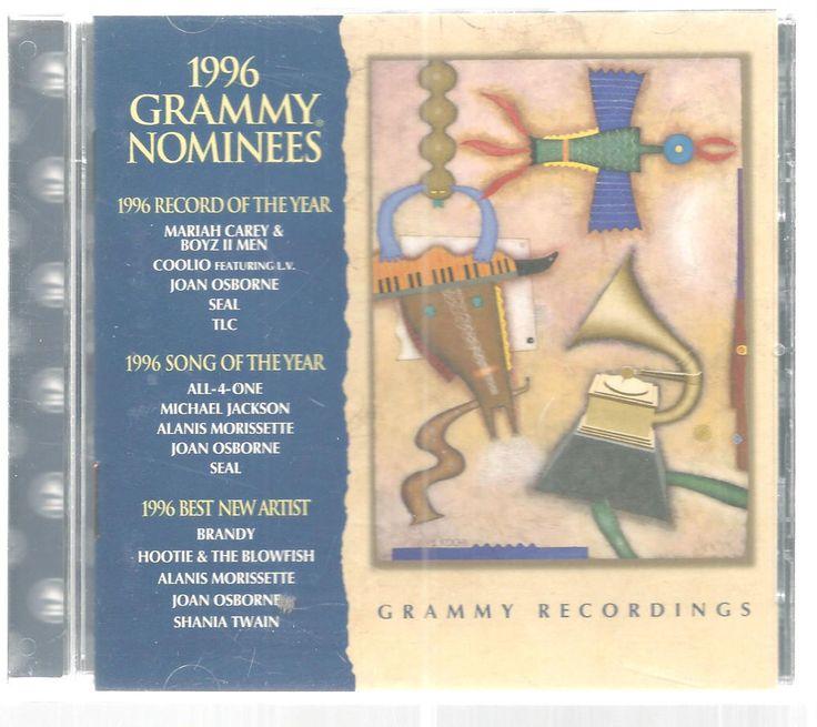 CD Grammy Nominees 1996 Michael Jackson Brandy Hootie Blowfish Sony #mixed