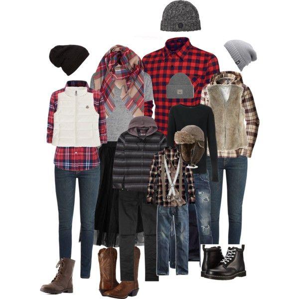 Lumberjack Family Photo for Fall 2016