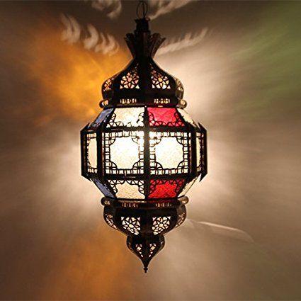 Marroquí crean Proyección techo lámpara Farol gharssif 65CMH: aladi nbazarcom