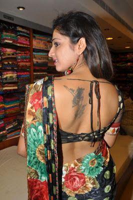 Sexy Saree Half Blouse Hot Actresses Pinterest Sexy