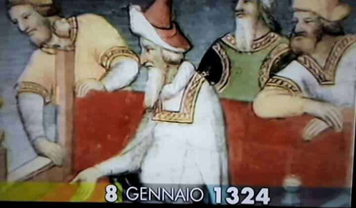 8 gennaio 1324  muore a Venezia il mercante Marco Polo. Era nato nel 1254 e nel 1275 era andato alla corte dell'imperatore della Cina.