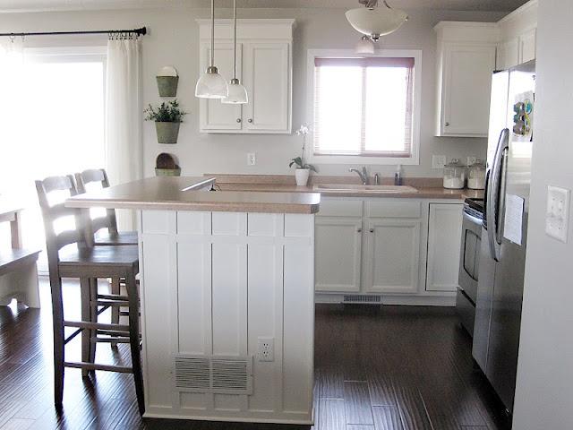 Best Add Trim To An Island Kitchen Pinterest House Tours 400 x 300