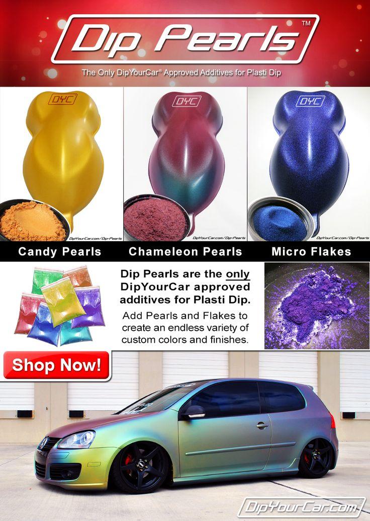 DipYourCar.com -Plasti Dip For Your Car - Glossifier Blaze Pearlizer Metalizers Pro Car Kits Peel Coat