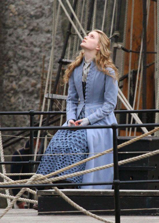 Mia Wasikowska as Alice Kingsley in Tim Burton's Alice in Wonderland