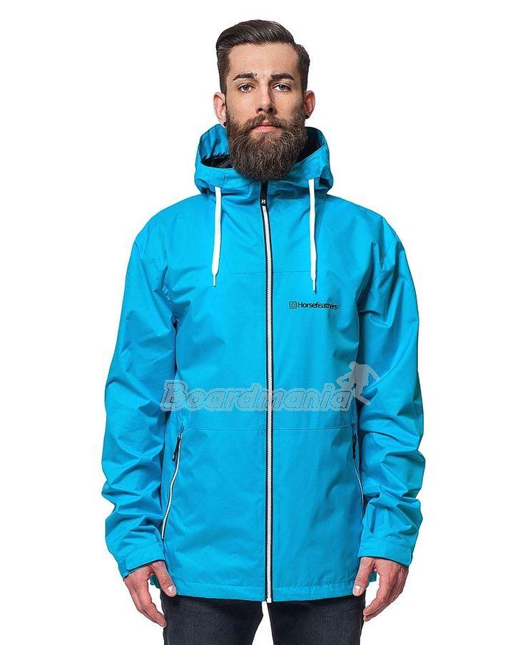 Pánská bunda Horsefeathers Crystal blue z kategorie Pánské jarní bundy, podzimní bundy.