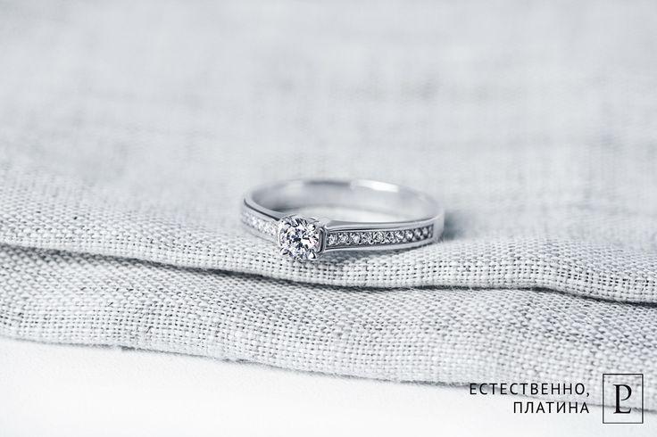 Помолвочное кольцо из платины с бриллиантами от Platinum Lab не оставит равнодушной ни одну девушку. #ring #brilliant #помолвочноекольцо #кольцо #jewelry #platinum #PlatinumLab #rings #wedding #weddingrings #diamond #jewellery #accessorize