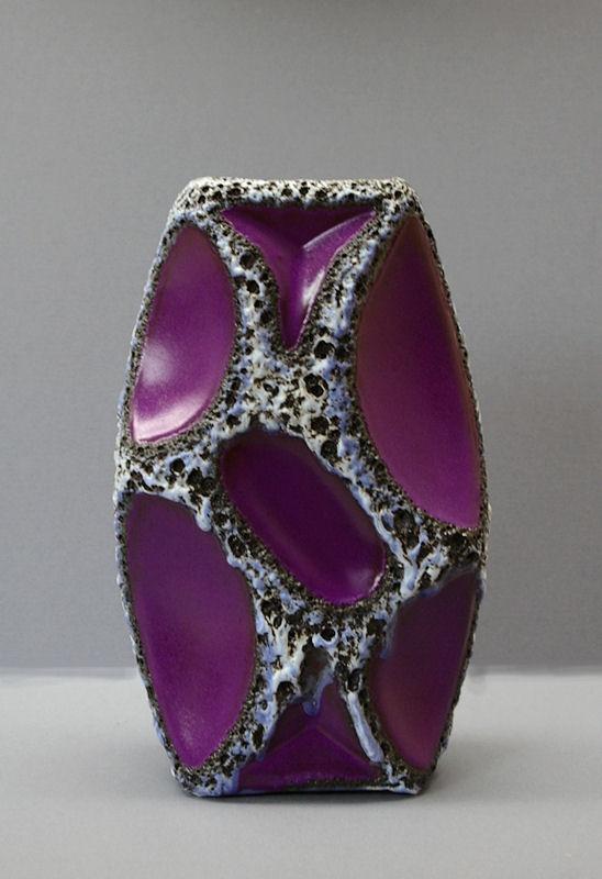 purple roth vaas uit de jaren 70 toen alles nog veel mooier was