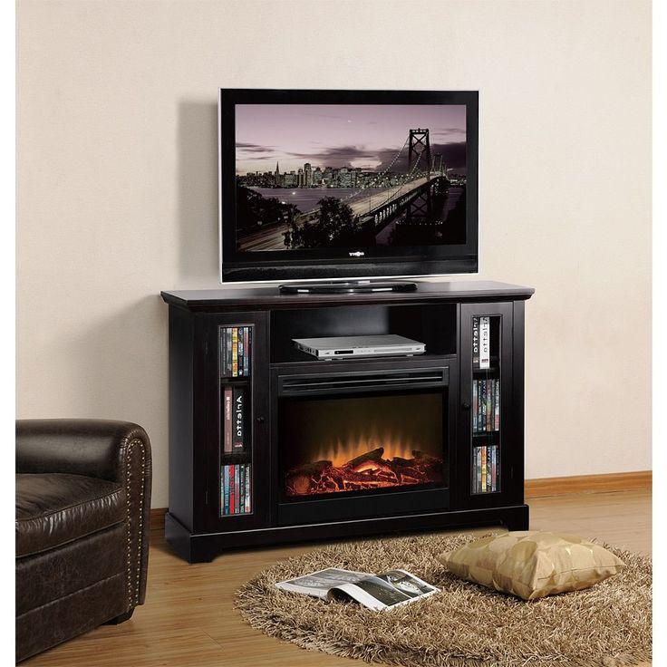 Fireplace Design black entertainment center with fireplace : Best 25+ Black entertainment centers ideas on Pinterest ...
