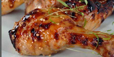Honey Mustard Chicken Drumsticks Recipes | Food Network Canada