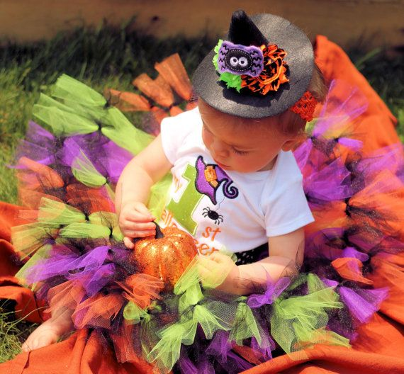 Baby First Halloween-Girl First Halloween First by SewsnBows