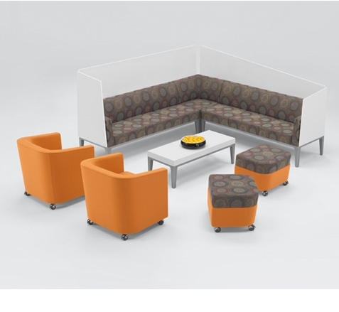 Arcadia Contract Domo Lounge Series Seating Contract Furniture