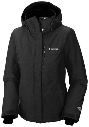 Columbia Women's Alpine Action OH Insulated Jacket Plus Sizes Black 2X