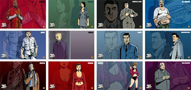 GTA 3 Character Artwork | GTA Trilogy | Android, Gta, 3 characters
