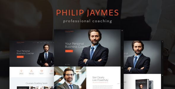 CURRENT VERSION 1.4 (see Change log at the bottom of this page)    PJ is a WordPress theme intended for life and business coaches who whish to make an impressive internet presentation. The them...