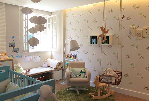 Natureza e funcionalidade no Quarto do Bebê Menino, ambiente da Morar Mais Por Menos 2012