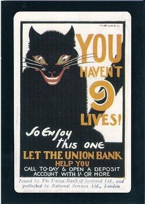 Union Bank vintage ad (1930)