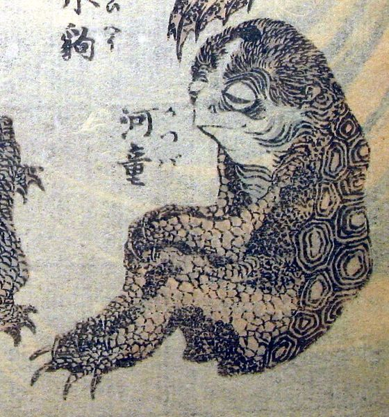 Kappa are legendary creatures; a type of water sprite found in Japanese folklore. However they are also considered to be a part of Cryptozoology, due to claims of sightings.