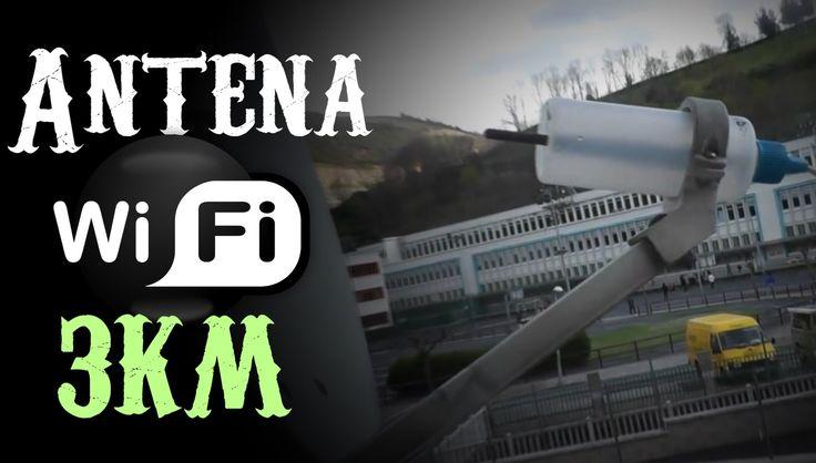 Como hacer una antena wifi de largo alcance muy facil, barata y potente Si quieres usarla para android o ios lo explico al final de la descripción. Video tutorial sobre como hacer una antena wifi casera con una antena parabolica, de esta manera podras llegar a redes a mas de 2km de distancia, en