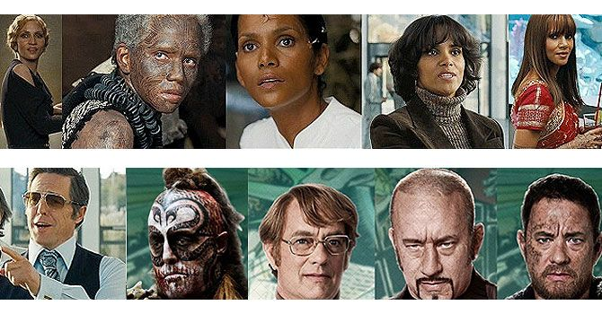 Cloud Atlas cast make-over