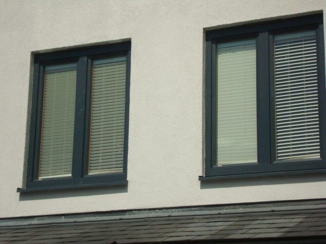Integral blinds with internorm 39 s composite windows for Windows with built in shades