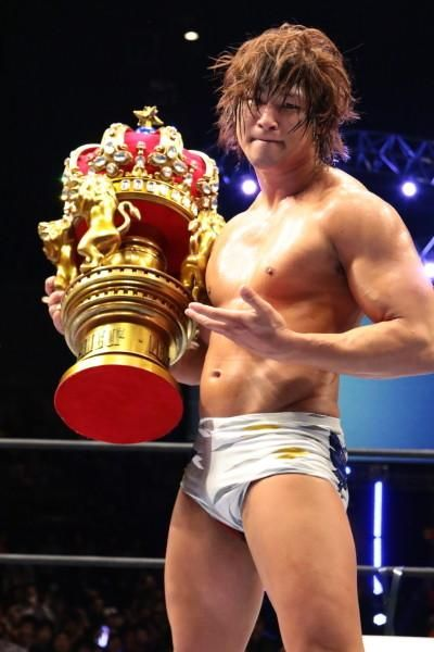 2015 New Japan Cup Winner Kota Ibushi