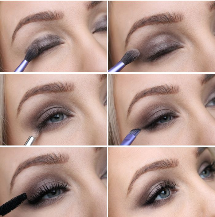 TUTORIAL - Quick and easy party makeup!(Loreal lumiere 502 + black eyeshadow)