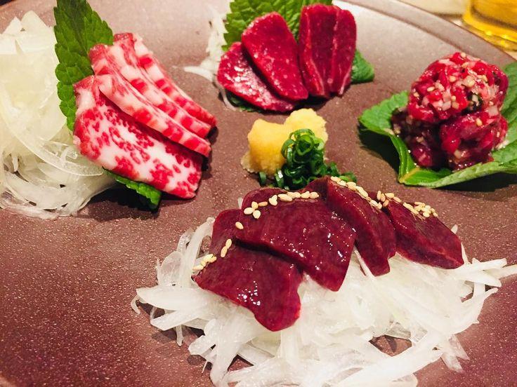 美味しい御飯  #SUSHI#JAPAN#meat#CAKE#eel#crab#ramen#TOKYO#東京##日本#日本一#肉#美味しい#美味しい御飯#青山#外苑前#韓国料理#チヂミ#ハル#馬刺し