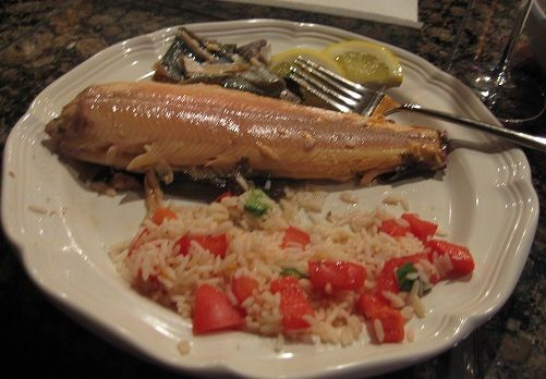 Baked Rainbow trout are so good that my husband said we should always cook trout this way. Bingo! My husband came home with three large Rainbow Trout.