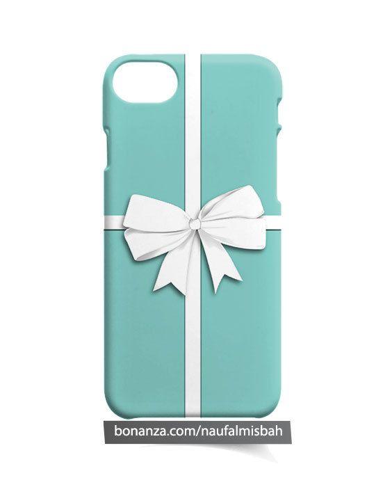 quality design 1c722 c8674 Tiffany Box Bow iPhone 5 5s 5c 6 6s 7 8 + Plus X Case Cover - Cases ...