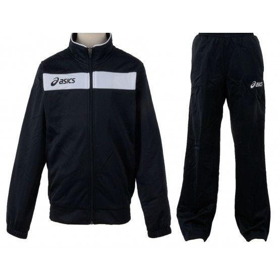 Melegítő Asics Suit Team 2 garnitúra fekete,fekete unisex