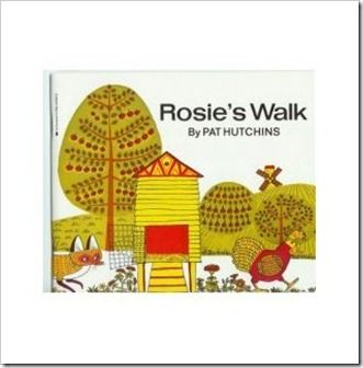 rosieswalk--great for teaching positional and directional words.  shows activity to go along with it.