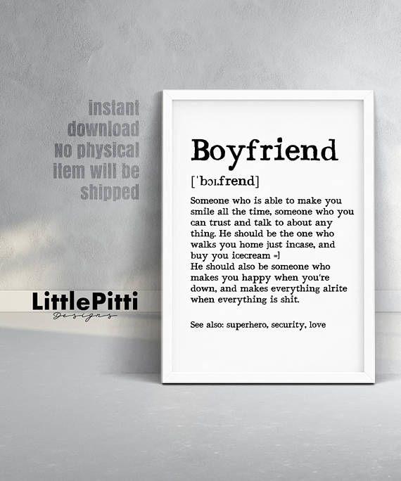 Boyfriend Gift Funny Birthday