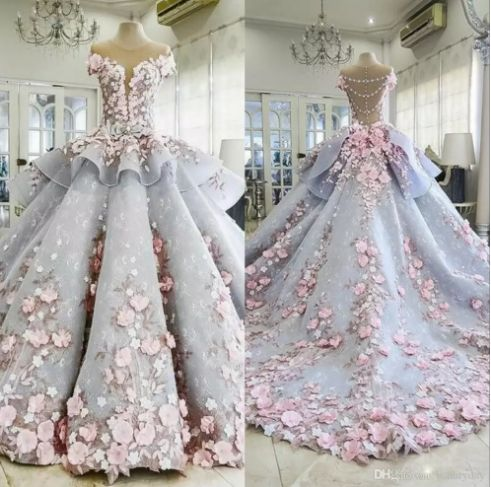 Mentioned Mhamad 2019 Marriage ceremony Attire Bride Robes Ball Robe 3D-Floral Appliques Classic Lace Beaded Bridal Gown Gown De Mariage 2019 Mentioned Mhamad Marriage ceremony Attire Bride Robes Ball Robe Bal Robe Bridal Robes On-line with $492.71/Piece on Beautyday's Retailer