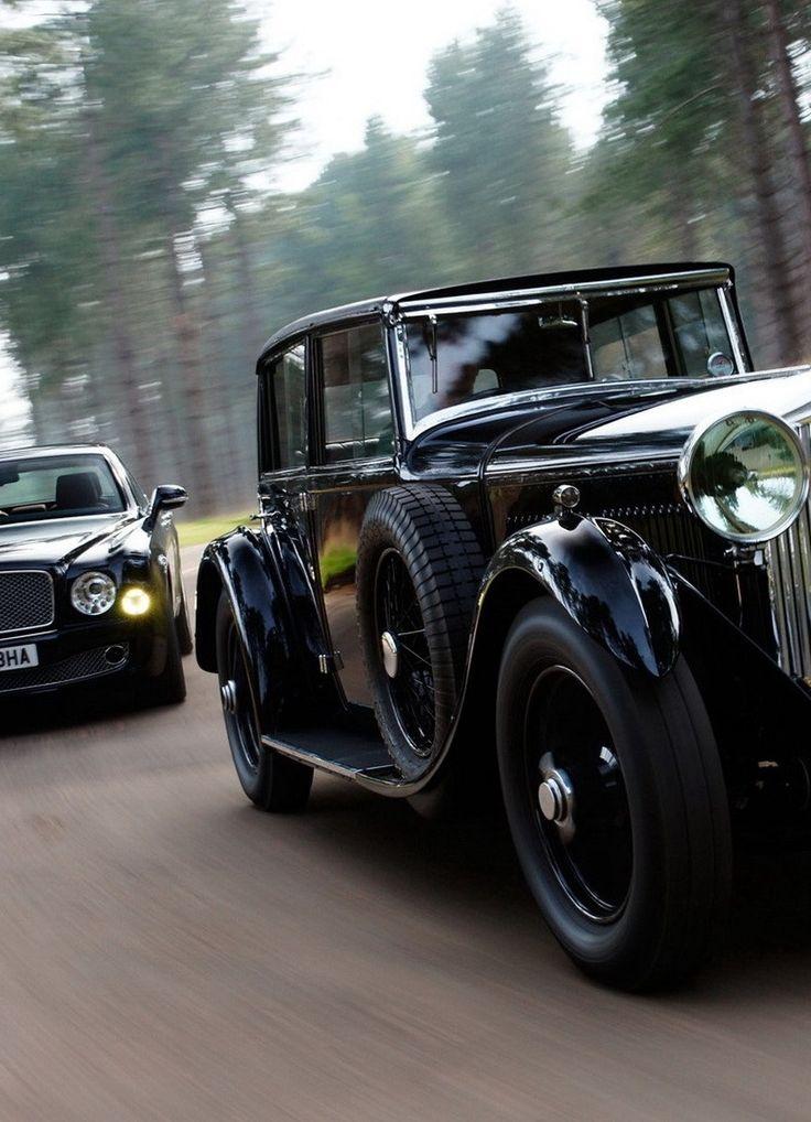 ♂ Black classy car#Bently #automotive