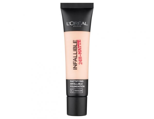 Infallible 24H Matte Foundation - 10 Porcelain. Just got this after seeing rave reviews